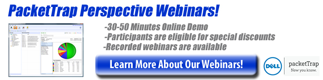 PacketTrap Recorded Online Demonstrations & Webinars